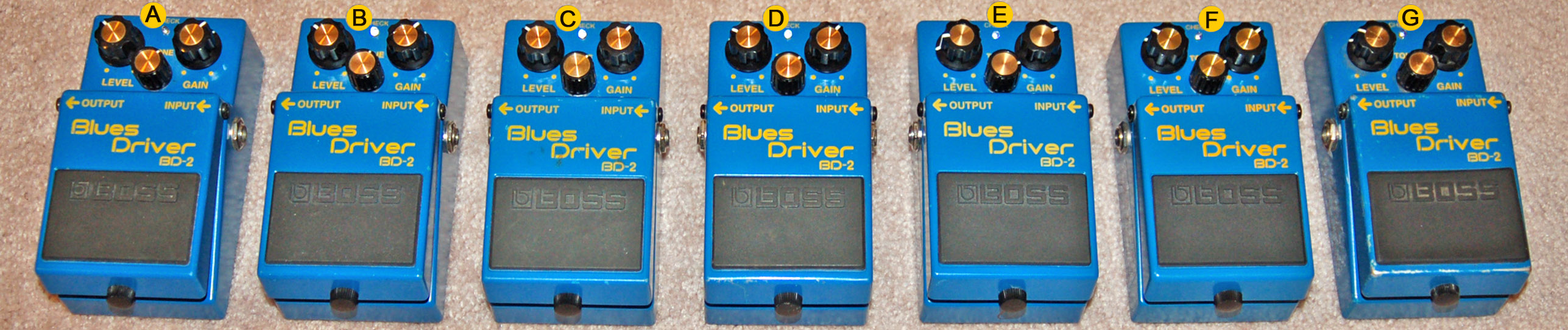 Boss bd-2 blues driver overdrive w/ keeley mod | reverb.